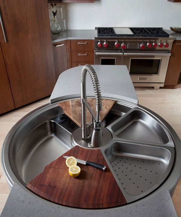 Rotating Sink