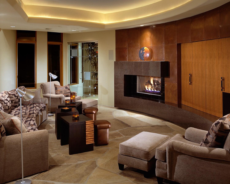 Soft contemporary janet brooks design for Soft modern interior design