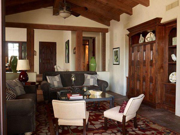 Mission Style Interior Design