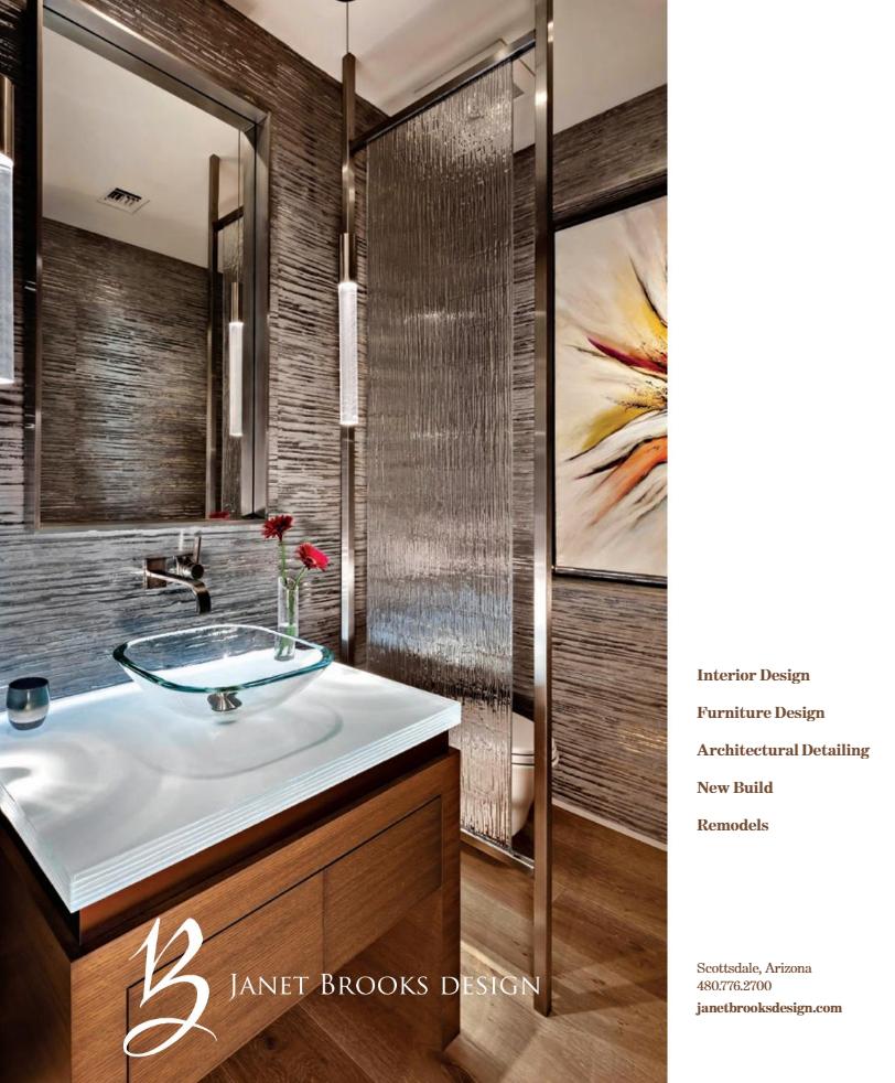 Janet Brooks Custom Bathroom Design