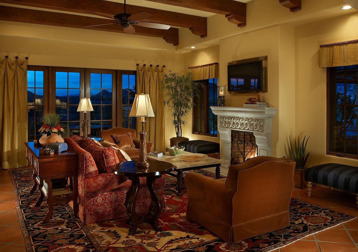 Santa barbara home interior design by janet brooks for Home designs and granite santa barbara