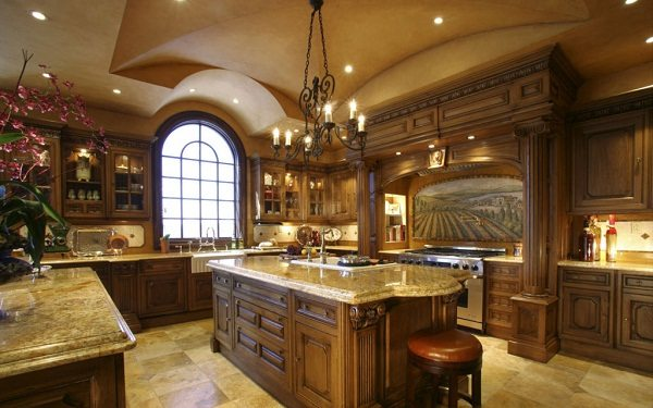 Tuscan Style Kitchen contemporary as a design style | janet brooks design