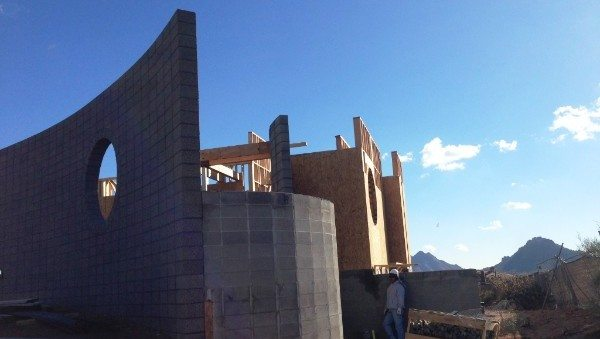 Desert Radius Contemporary, Construction is Full Steam Ahead