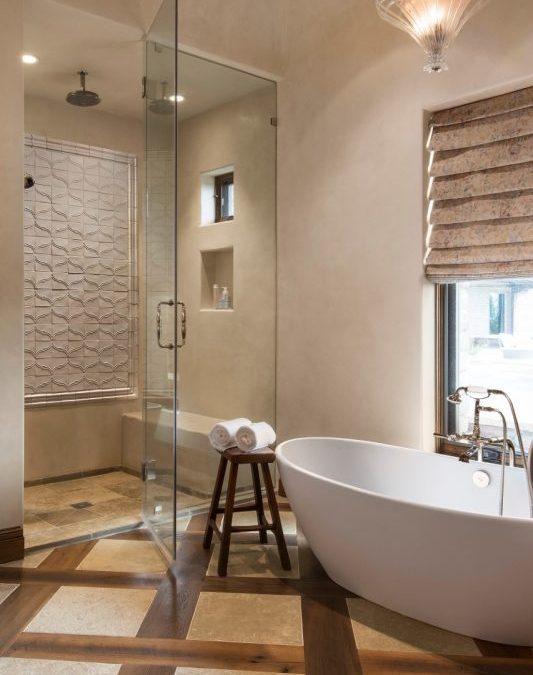 Five Mighty Interior Design Ideas for Smaller Bathrooms