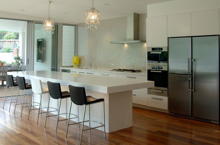 contemporary-kitchen-bench-seating - Janet Brooks Design