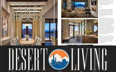 Desert Living Magazine: The Timeless Designs of Janet Brooks