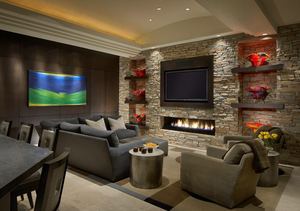 Designing Family Room Layout For