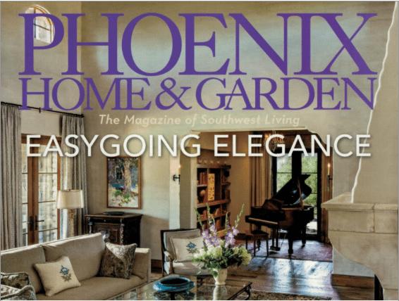 """Phoenix Home & Garden August 2015, """"Easygoing Elegance"""""""