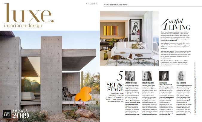 Luxe Magazine: Set the Stage