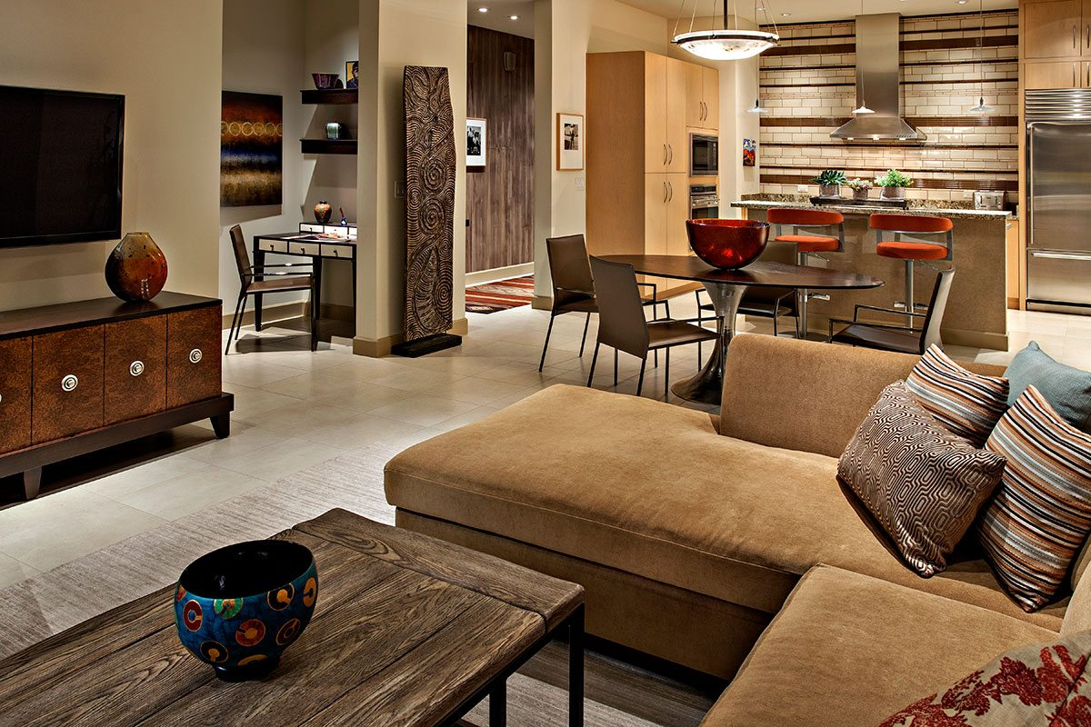 Scottsdale urban loft interior design by janet brooks - Interior decorator scottsdale az ...
